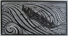 Adventures in the Print Trade: With the grain: the woodcuts of René Quillivic