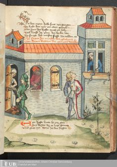 155 [76r] - Ms. germ. qu. 12 - Die sieben weisen Meister - Page - Mittelalterliche Handschriften - Digitale Sammlungen  Frankfurt, 1471