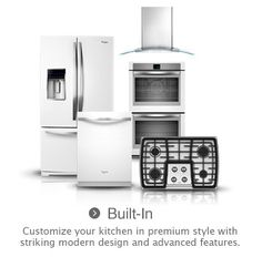 Whirlpool's New White Ice Collection - Modernizing The Traditional Ugly White Appliances (Think Apple Product's White)