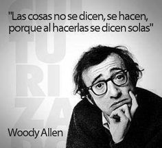Woody Allen says: The Words, More Than Words, Cool Words, Frank Kafka, Motivational Phrases, Inspirational Quotes, Woody Allen Quotes, Quotes To Live By, Me Quotes