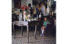 Olga Chagaoutdinova | A boy on a Chair. Cuban Pictures | C-Print | 2007