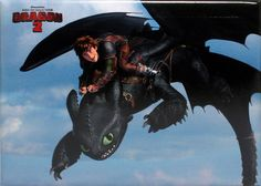 Hiccup Rides Toothless Magnet