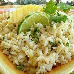 Arroz com abacaxi e limão @ allrecipes.com.br