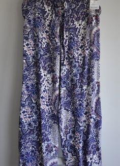 Kup mój przedmiot na #vintedpl http://www.vinted.pl/damska-odziez/spodnie-inne/18481111-szerokie-przewiewne-spodnie-rozporki-kieszenie-boho-etno-wiskoza-gumki-print-paisley-xl