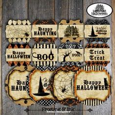 spooky halloween tags