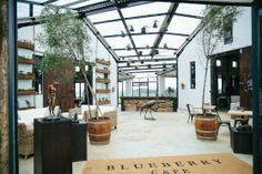 BLUEBERRY CAFE in KZN Midlands, South Africa KwaZulu-Natal Midlands Meander is one of the country's most famous routes. It's also known as the 'arts and crafts route'. BLUEBERRY CAFE is located in this area and it's designed by Anatomy Design.