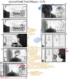 Drawing & Composition for Visual Storytelling Animation Storyboard, Storyboard Drawing, Comic Tutorial, Comic Layout, Animation Tutorial, Comic Drawing, You Draw, Drawing Techniques, Drawing Tips