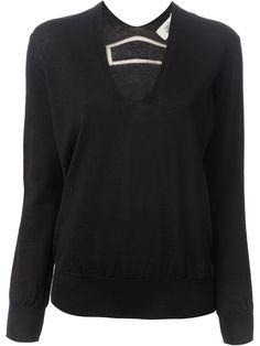 JEAN PAUL GAULTIER v-neck sweater - £225 on Vein - getvein.com