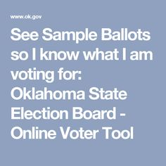 November 2016 Sample Ballot | Voting | Pinterest | Sample ballot ...