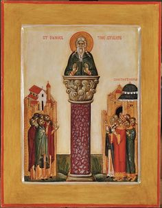 St. Daniel the Stylite | Flickr - Photo Sharing!