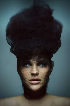 ☫ A Veiled Tale ☫ wedding, artistic and couture veil inspiration - Milad Sahafzadeh