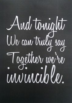 Together we´re invincible - MUSE