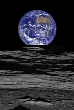 Die Nasa filmte die Erde vom Mond aus und hielt etwas fest, das nie zuvor gesehen wurde
