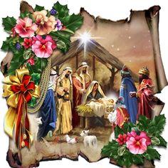 Christmas / Mini Kits / Card Making Merry Christmas Gif, Christmas Minis, Christmas Scenes, Christmas Nativity, Vintage Christmas Cards, Christmas Pictures, Xmas Cards, Christmas Art, All Things Christmas