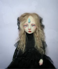 OOAK Artdoll - Maraline UNICORN girl