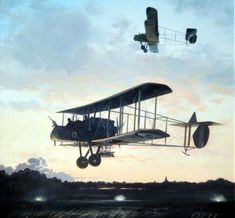 1917 Royal Aircraft Factory FE2b - John Young