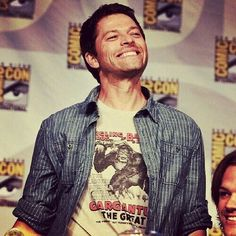 Happy birthday to the Overlord, Misha Collins a.k.a Dimitri Krushnic