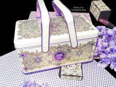Gorgeous Anna Sui Makeup Box! Great for storage.