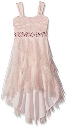 Tween Diva Big Girls' Glitter Mesh Cascade Dress, Blush, 10 Tween Diva http://www.amazon.com/dp/B01539TJCW/ref=cm_sw_r_pi_dp_tigNwb1ZYY96M