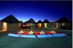 Camping in Desert in jaisailmer