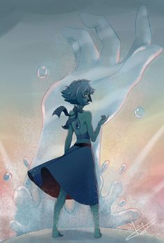 Steven universe,фэндомы,SU art,SU Персонажи,Lapis Lazuli