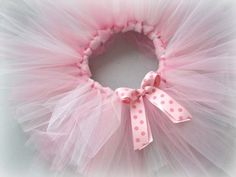 A good tutorial for making a tutu, plus a place to buy the tulle.