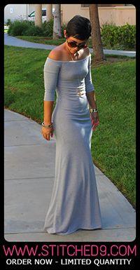 DIY One Shoulder Dress + Pattern Review M6320