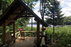 waterfront cabin in Adirondacks sleeps 6