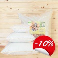 Poduszka puchowa sprężysta 70/80 w białym wsypie, 100% gęsie pierze darte z bizą zabezpieczającą