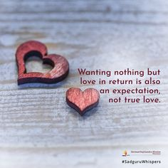 Wanting nothing but love in return is also an expectation, not true love. True Love, Relationship Quotes, Quote Of The Day, Love Quotes, Thoughts, Spirituality, Illustration, Girls, Inspiration