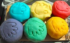 Scented Play Dough  You Pick Five  8 oz containers. =