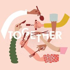 We're illustration lovers here. Are you an aspiring graphic designer? Feed your design hunger at Referential Treatment. See more 2019 illustrations, drawings, doodles, sketches, and the like on this board. Art And Illustration, Graphic Design Illustration, Illustrations And Posters, Feminist Art, Typography, Lettering, Poster S, Wine Festival, Food Festival