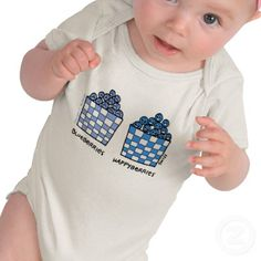 Blueberries. Funny baby onesie. Know a baby whose tears turn to smiles, and vice versa, in an instant.  She might get a kick out of the cartoon on this funny baby onesie.  Look for moneysaving SALES codes daily at the top of each page at my shop--> http://www.zazzle.com/swisstoons?rf=238575599056059205=zBookmarklet $26.60
