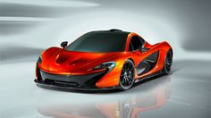 New McLaren P1