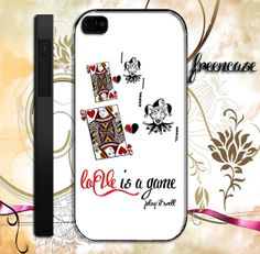 love game card design iPhone case for iphone 4 by FreenCase, $15.55