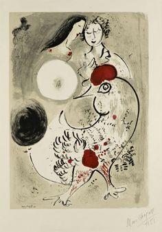 Dal 16 marzo al 26 luglio, il Chiostro del Bramante ospita un'esposizione interamente dedicata a Marc Chagall, pittore russo di origine ebrea.