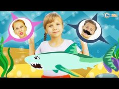 Funny Baby Balloons and Baby Songs Shark Song & Nursery Rhymes for kids! - YouTube