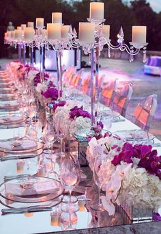 Mirrors can be used for your big day decor in a very refined way. How? Mirrors are amazing for making seating charts, menus or various signs ...
