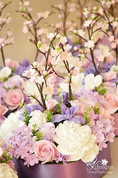 Pinks and purples for a beautiful morning...