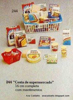 Infância anos 80 - Cesta de compras Elka