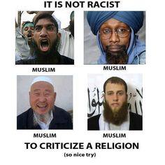 islam is not a race.