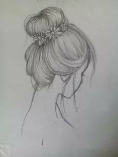 Fantasting Drawing Hairstyles For Characters Ideas. Amazing Drawing Hairstyles For Characters Ideas. Pencil Sketch Drawing, Girl Drawing Sketches, Sketchbook Drawings, Pencil Art Drawings, Cool Art Drawings, Easy Drawings, Drawing Ideas, Drawing Poses, Drawing Tips