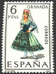 SELLO postal. Granada