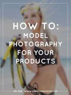 You can convert more customers into sales if your photos are optimized. Here's how you can take photos of your product on models!