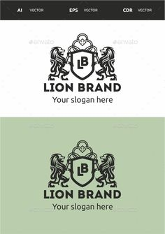 Lion Brand — Vector EPS #elegant #Jewelry Logo • Available here → https://graphicriver.net/item/lion-brand/9618156?ref=pxcr