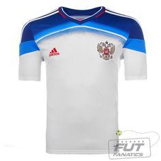 1d2affaa75a06 Camisa Adidas Russia Away 2014 - Fut Fanatics - Compre Camisas de Futebol  Originais Dos Melhores