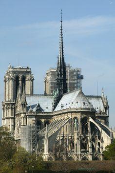 Notre Dame of Paris Cathedral Cathedrals, I Saw, Notre Dame, Castles, Paris Skyline, Catholic, Places To Go, France, Landscape