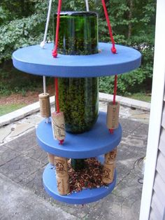 We wish we'd seen this backyard idea before tossing our extra corks