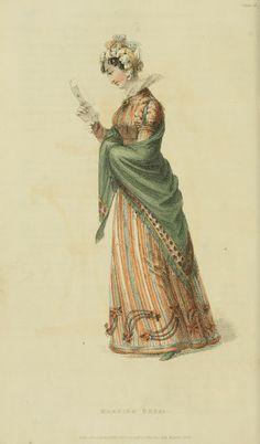 A large stiffened single-layer ruff. Ackermann's Repository 1824