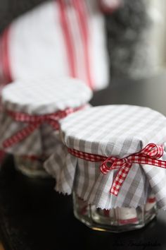 Something about red & white gingham, I love it!